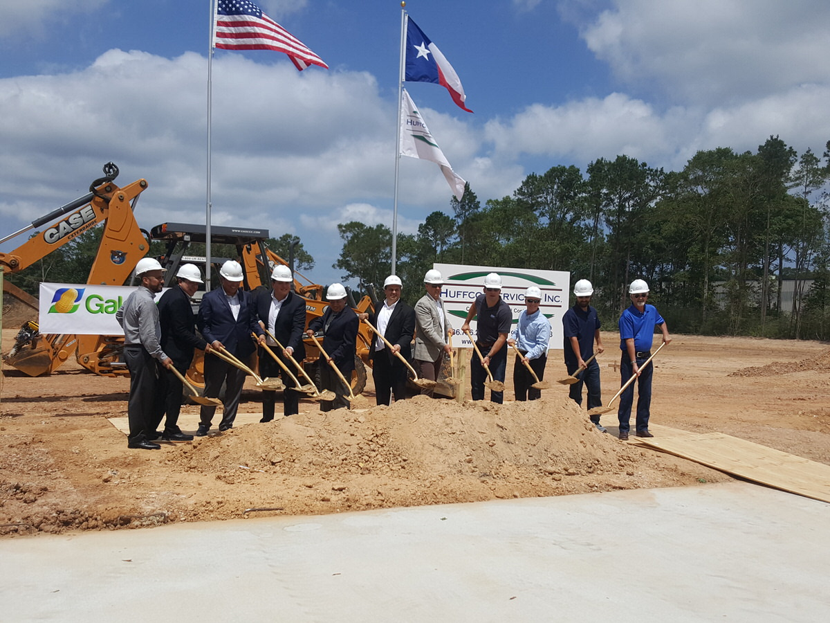 Groundbreaking Ceremony for Galdisa USA, Inc in Conroe Texas