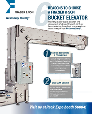 Advantages of Frazier and Son Bucket Elevators